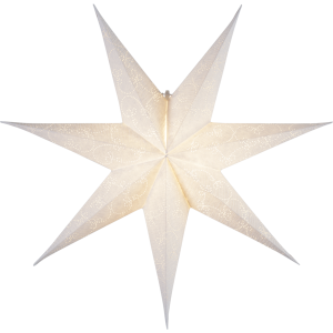 Pappersstjärnor utan sladdställ